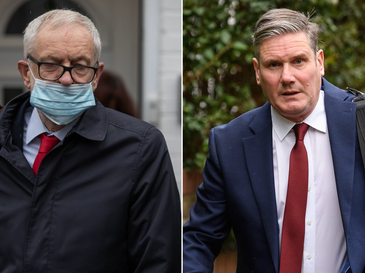 Starmer says Corbyn could have predicted suspension for EHRC ...