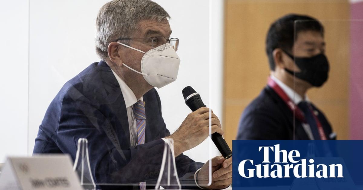 Olympics chief Thomas Bach mixes up Japanese and Chinese at Tokyo 2020 presser – video
