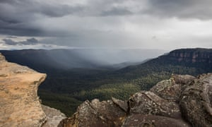 The view from Lincoln's Rock at Wentworth Falls
