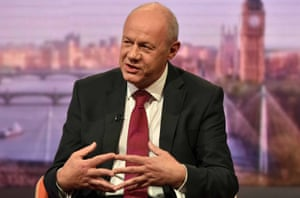 Damian Green appearing on the Andrew Marr Show