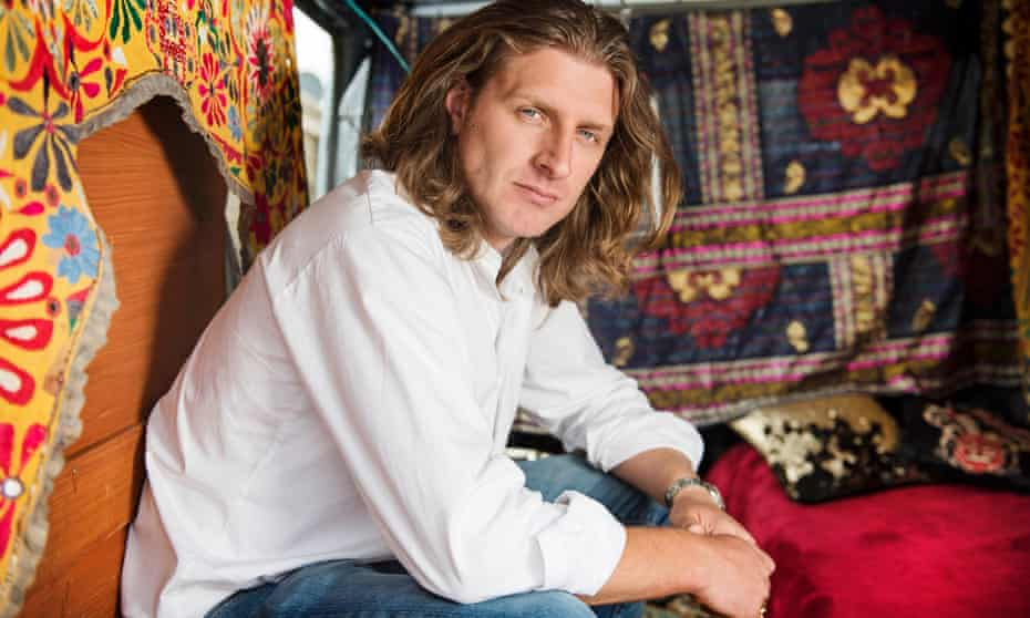 Damian Le Bas, author of The Stopping Places: A Journey Through Gypsy Britain.