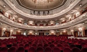 Perm Opera theatre in Russia.