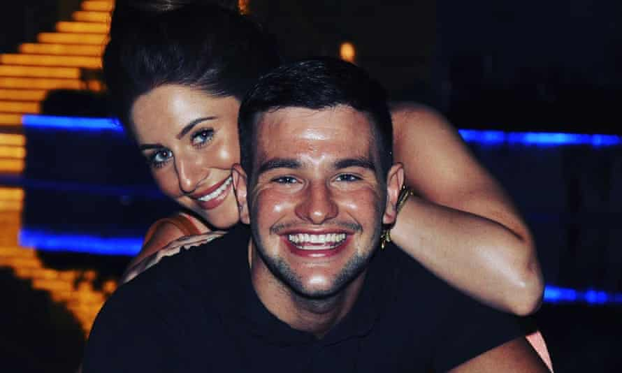 Daniel Baird and his then partner Gemma Morris