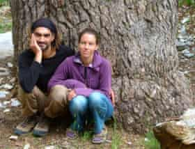 Tuğba Günal and Birhan Erkutlu, who have been campaigning against hydroelectric dams near their home in the Alakır Valley in Antalya