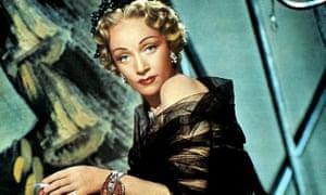 Marlene Dietrich in Stage Fright, 1950.