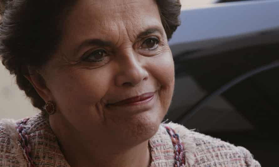Former Brazilian president Dilma Rouseff in a scene from The Edge of Democracy
