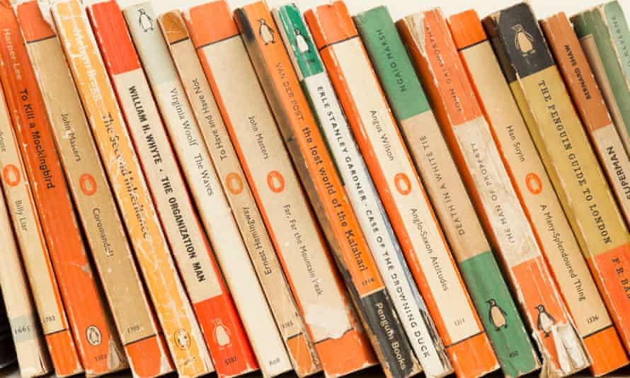 Vintage paperbacks published by Penguin Books