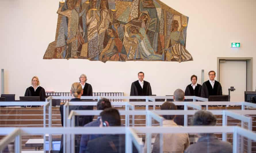 The first trial of members of Syrian security services for crimes against humanity taking place in Germany.