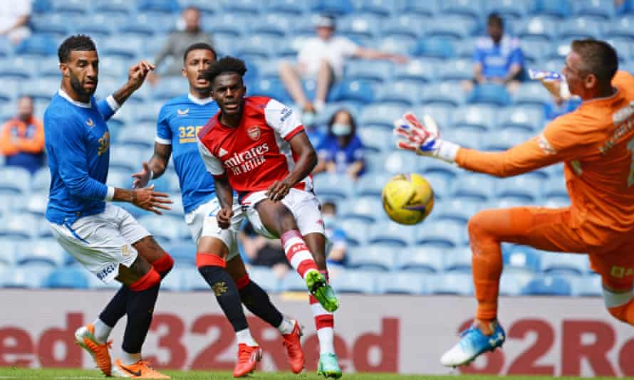 Nuno Tavares has offered a glimpse of his quality to Arsenal fans.