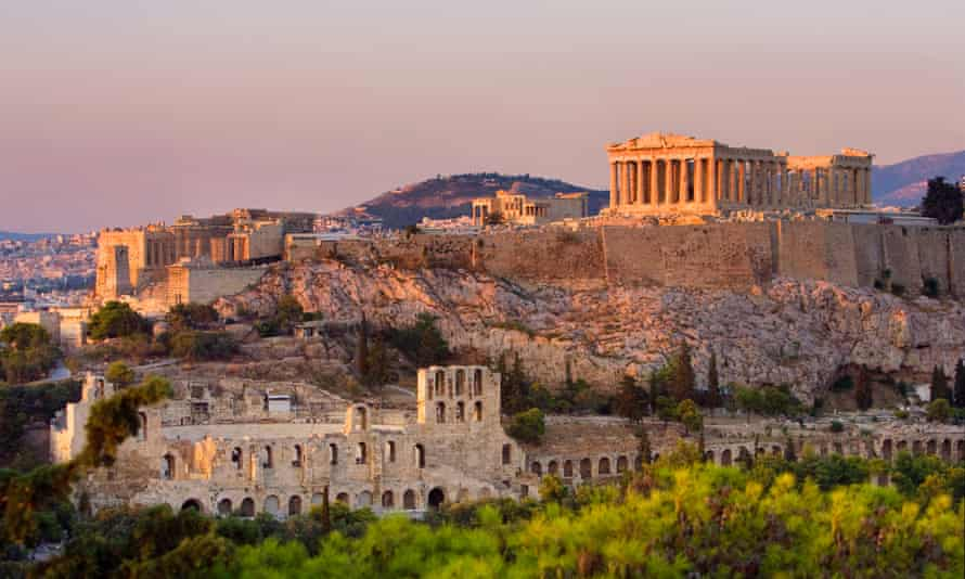 Athens … where the trouble all began.
