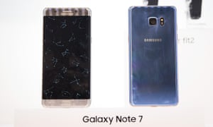 Galaxy Note 7 front and back
