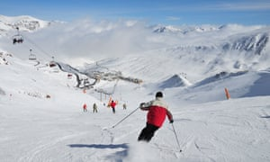 Happy valley: El Pas de la Casa, part of the larger Grandvalira ski area.