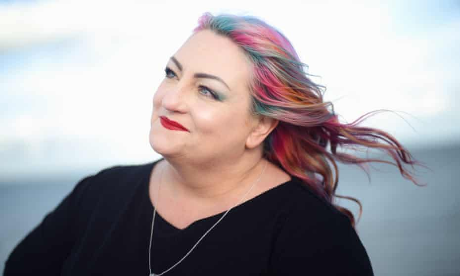 Jan St John-Knight: 'My sense of being different comes out in my hair.'