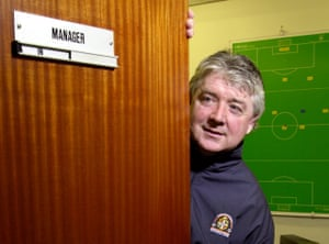 Joe Kinnear during his time as manager in 2001.