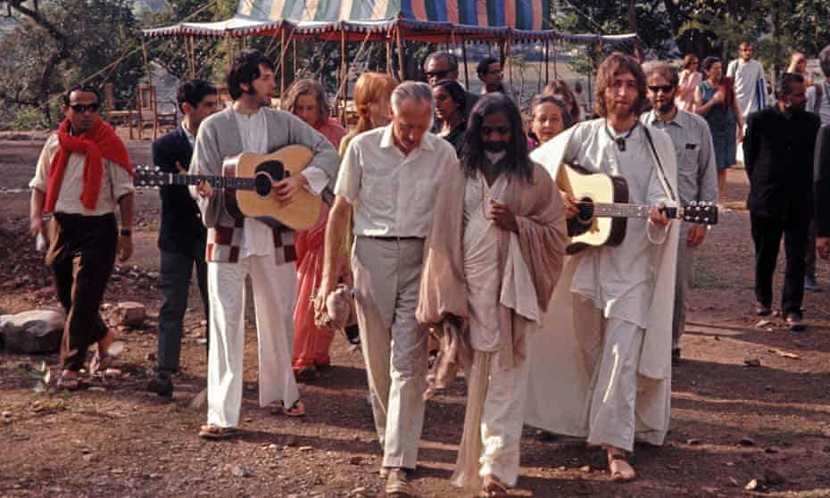 Colossal influence … The Beatles and India.