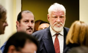 Slobodan Praljak in court