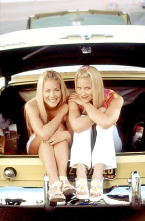 Sweet Valley High's Brittany and Cynthia Daniel.