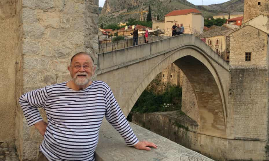 Trevor May in Bosnia and Herzegovina in 2018. A social and economic historian, he wrote more than 20 books