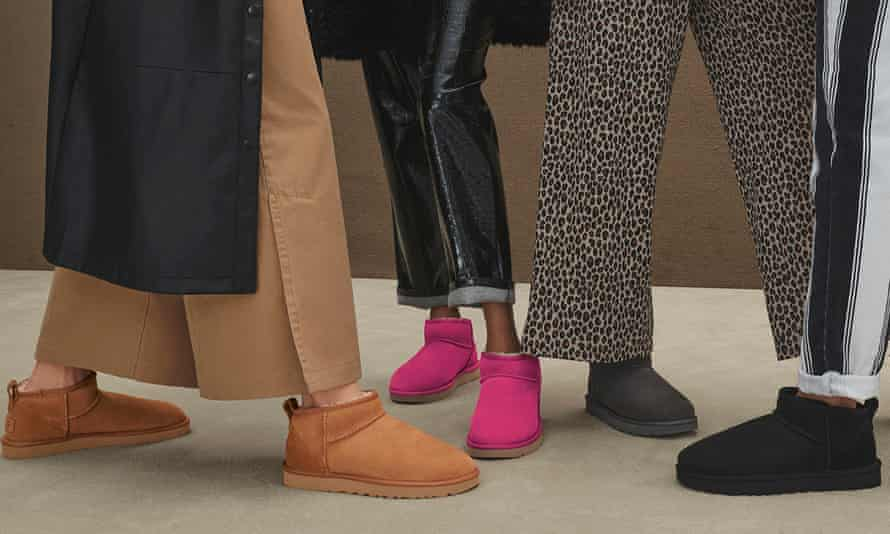 UGG boots, once surfer footwear, are currently experiencing a revival as a fashion favourite.