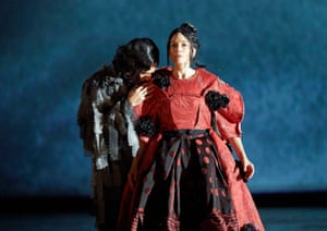 Comme des Garçons designer Rei Kawakubo designed the costumes for a production of Orlando at the Vienna Opera House.