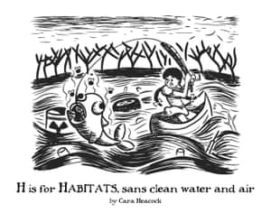 H is for Habitats, sans clean water and air