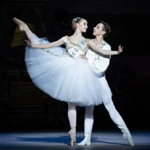 Natascha Mair and Denys Cherevychko of the Vienna State Ballet.