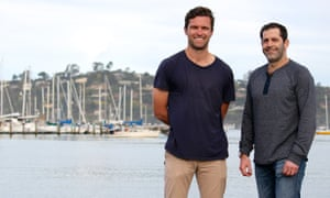 Allbirds co-founders: Tim Brown (left), a former New Zealand soccer player, and renewable materials expert Joey Zwillinger (right).