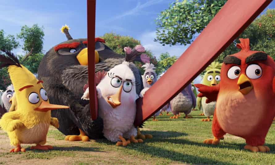 Scene from The Angry Birds Movie.