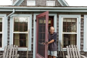 For years, Bill Hoadley ran the only lodging on the island, a small bed and breakfast called the Tucka-nuck Lodge.