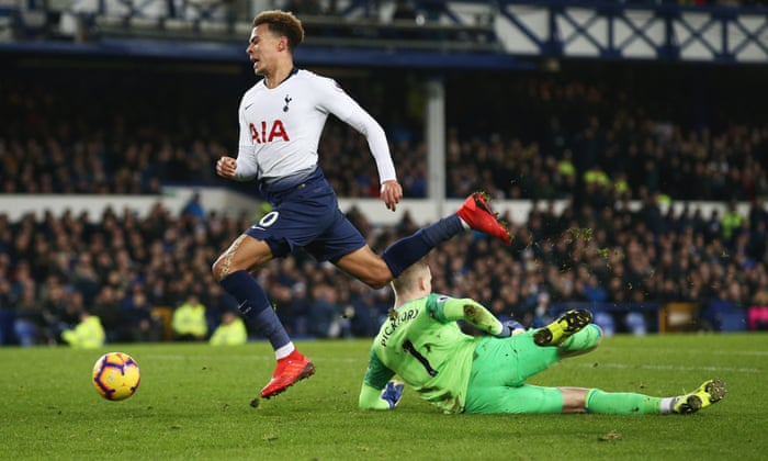 38b6e0328 Harry Kane and Son Heung-min star in Spurs  six-goal demolition of Everton