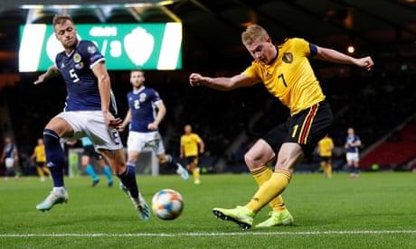 Toothless Scotland crumble in face of Belgium's superior attacking class