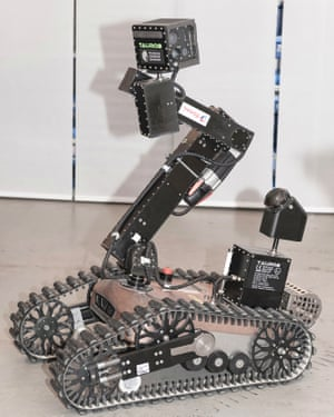 Robot developed by taurob and TU Darmstadt