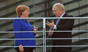 Merkel and Johnson