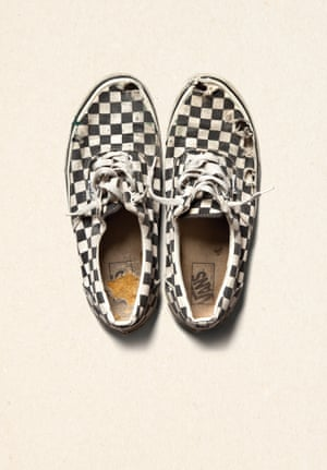 'In the late 70s, I noticed kids were colouring in their Vans with a checkerboard pattern, so we started making shoes like that' – Steve Van Doren, son of Vans co-founder, Paul Van Doren.