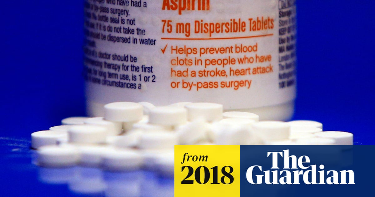 Daily Aspirin Unlikely To Help Healthy Older People Live Longer Study Finds Aspirin The Guardian