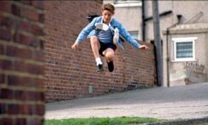 Jamie Bell in the film Billy Elliot, 2000.