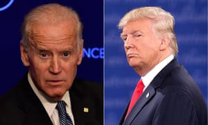 Facebook has defended Donald Trump's campaign ad which falsely attacks Joe Biden.