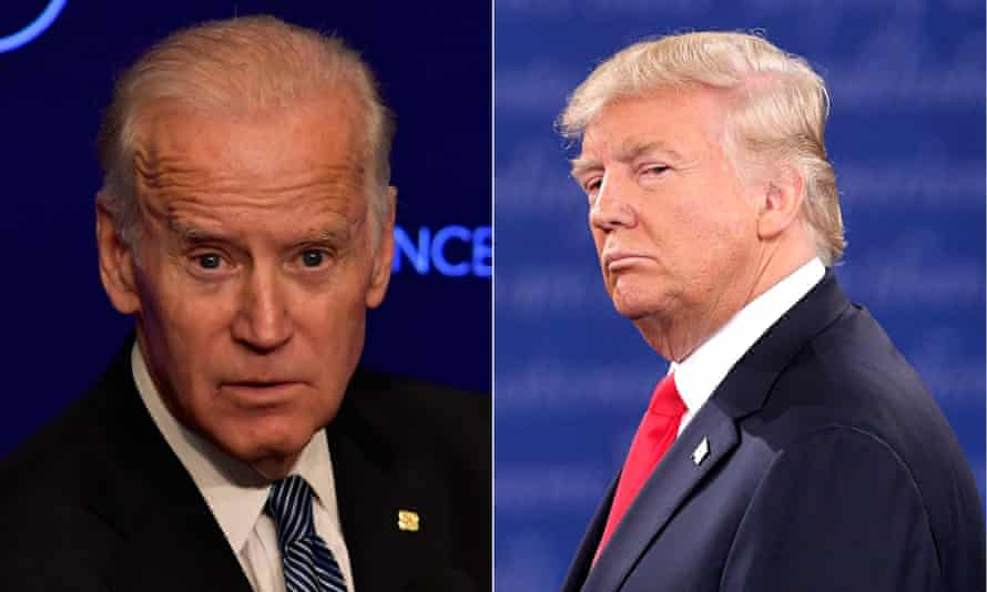 Joe Biden said of Donald Trump: 'I hope I don't get baited into a brawl with this guy, because that's the only place he's comfortable.'