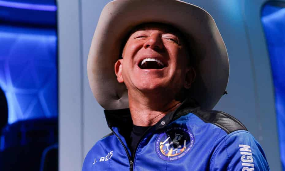 Jeff Bezos is the richest person in the US, with a net worth of $201bn.