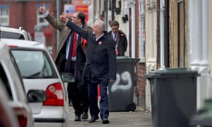Gareth Snell and Jeremy Corbyn.