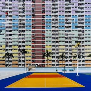 Pastel power … Choi Hung estate in Hong Kong.