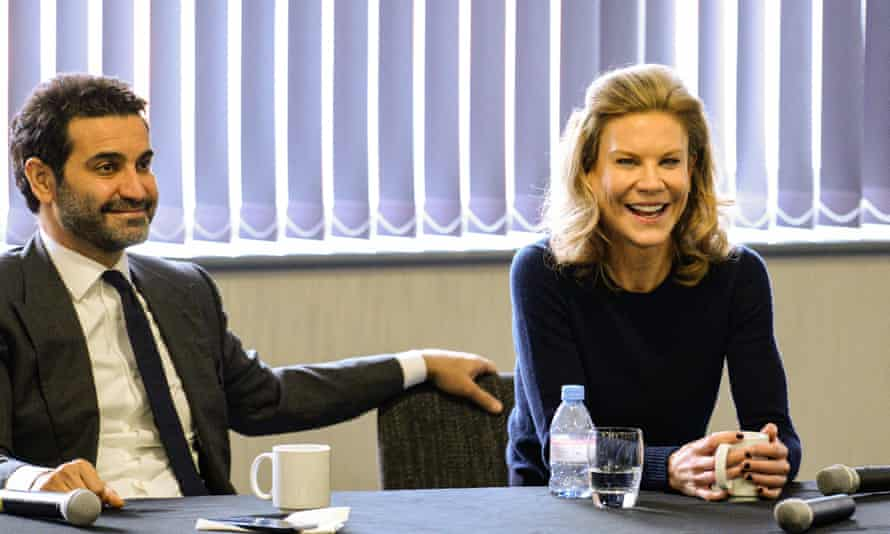 Amanda Staveley and her husband Mehrdad Ghodoussi