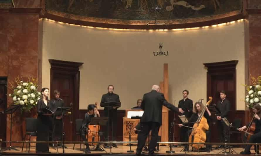 Flexible, pared-down sound: Fretwork performing at the Wigmore Hall