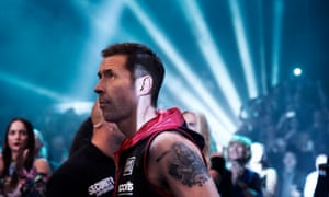 Moving and scary … Paddy Considine in Journeyman.