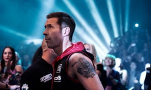 Paddy Considine in Journeyman as Matty Burton, a boxer who suffers a brain injury in the ring and has to try to rediscover his identity.