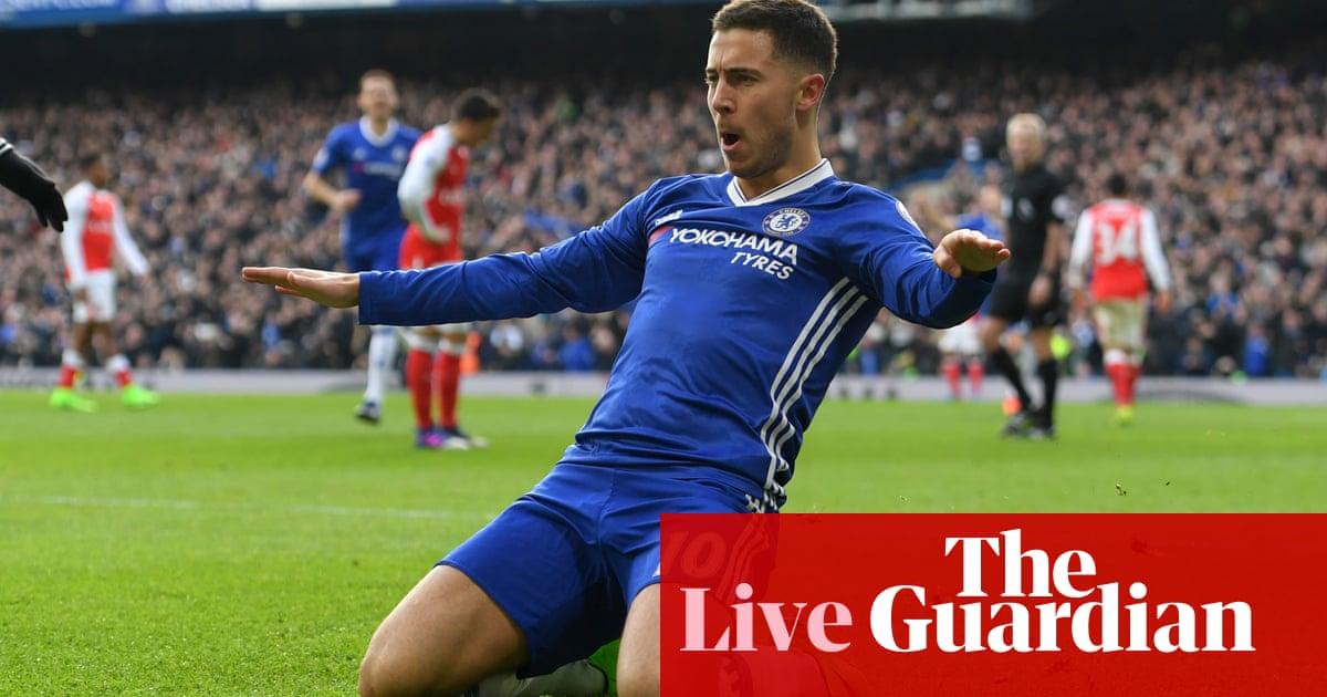 Chelsea 3-1 Arsenal  Premier League – as it happened. Eden Hazard s ... 8bdf03dcb