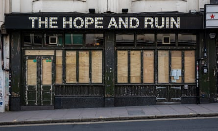Pubs Fear Disaster After Being Left Out Of Plans To Ease Lockdown Food Drink Industry The Guardian