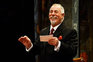 Last laugh? Barrie Rutter as the bank manager, Fuller.