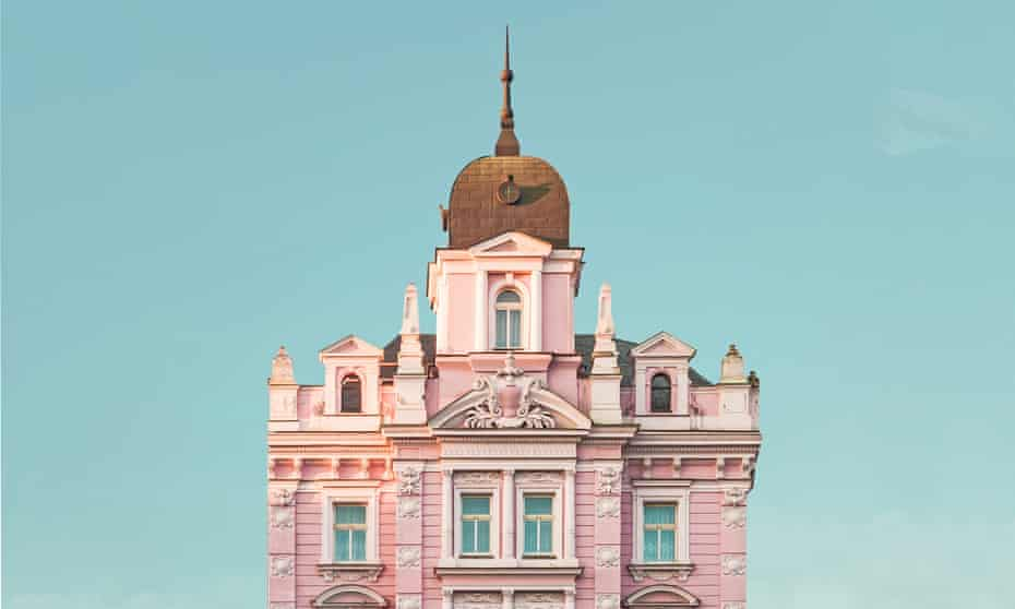 An image of The Opera Hotel in Prague that was submitted to Wally Koval's Instagram, @AccidentallyWesAnderson: a collection of places and buildings that look like they were lifted from the director Wes Anderson's films.