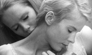 Two become one … Bibi Andersson and Liv Ullmann in Ingmar Bergman's 1966 film Persona.